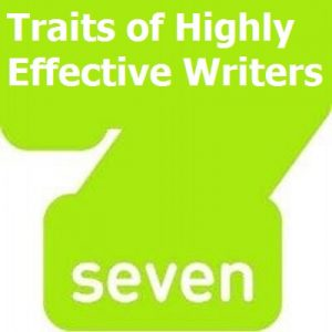 graphic 7 traits 300x300 7 Traits of Highly Effective Writers